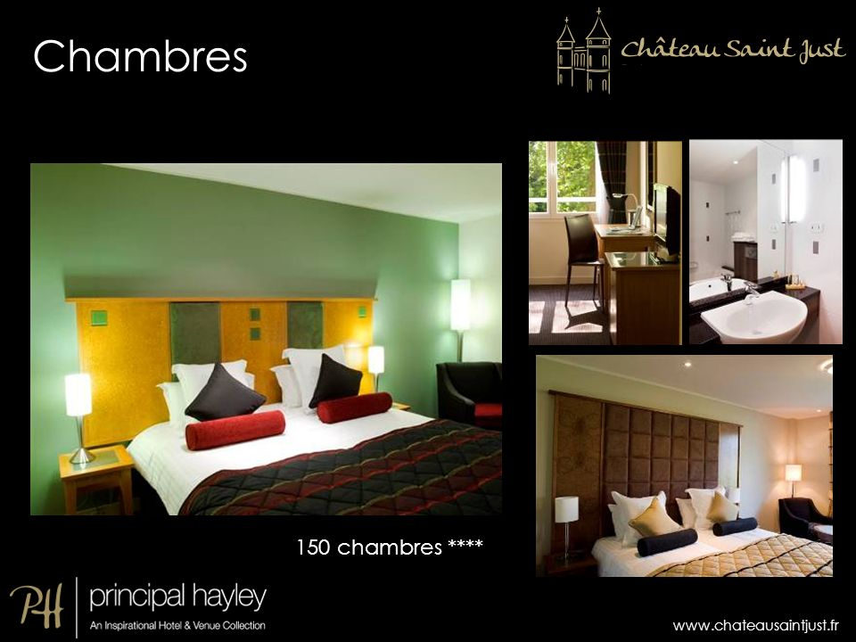 Chambres 150 chambres ****