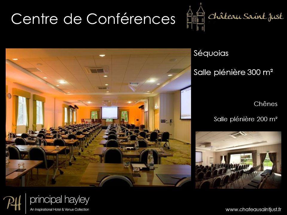 Centre de Conférences Séquoias Salle plénière 300 m² Chênes