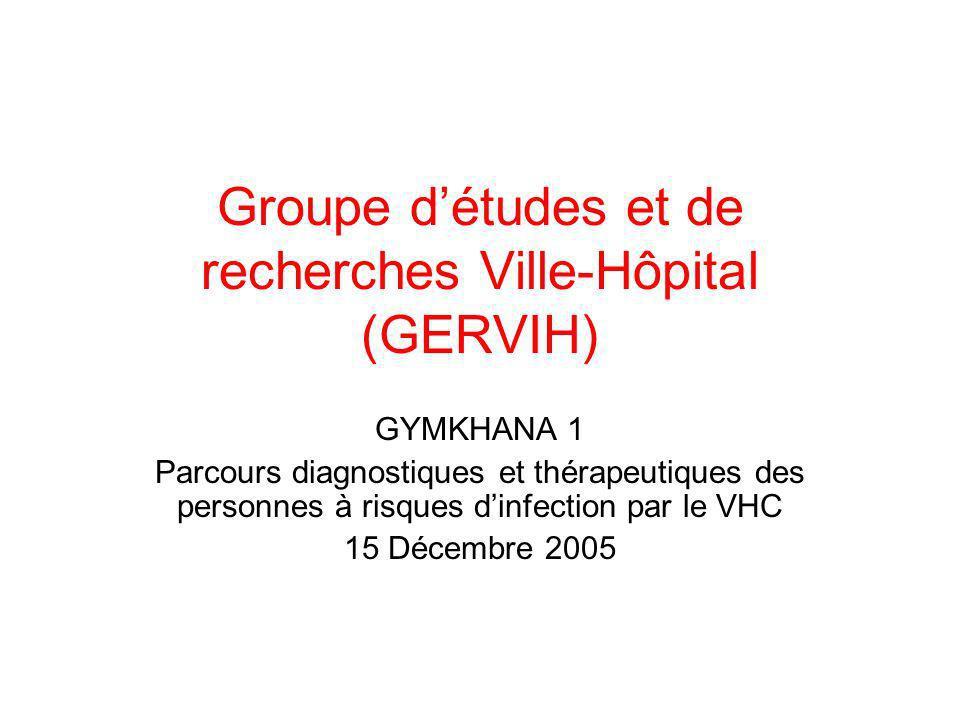 Groupe d'études et de recherches Ville-Hôpital (GERVIH)