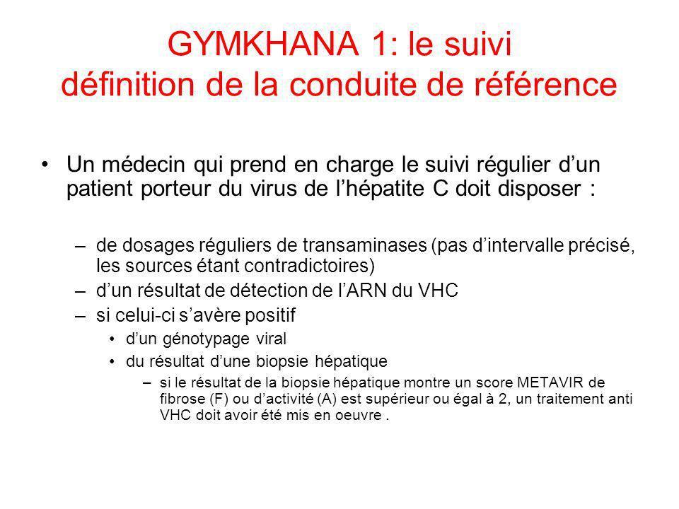 GYMKHANA 1: le suivi définition de la conduite de référence