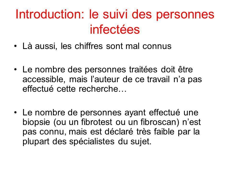 Introduction: le suivi des personnes infectées