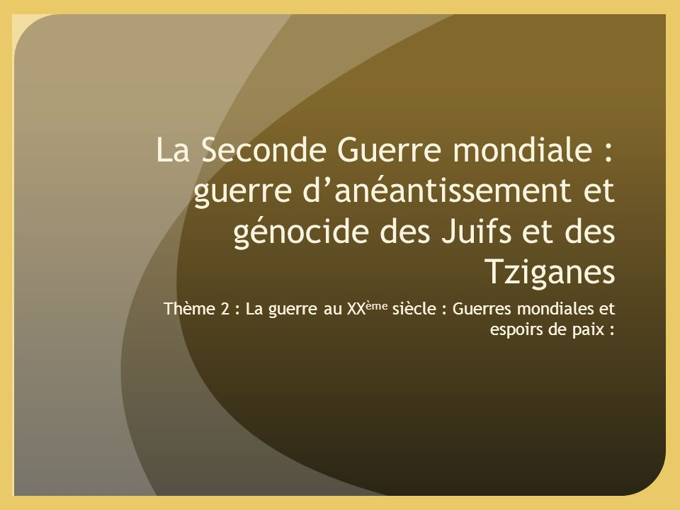 how is the theme of genocide And genocide 7-25-00 jeff  the main theme of the conference was the continued work of the financial vulnerabilities project, a project which the cfr launched in.