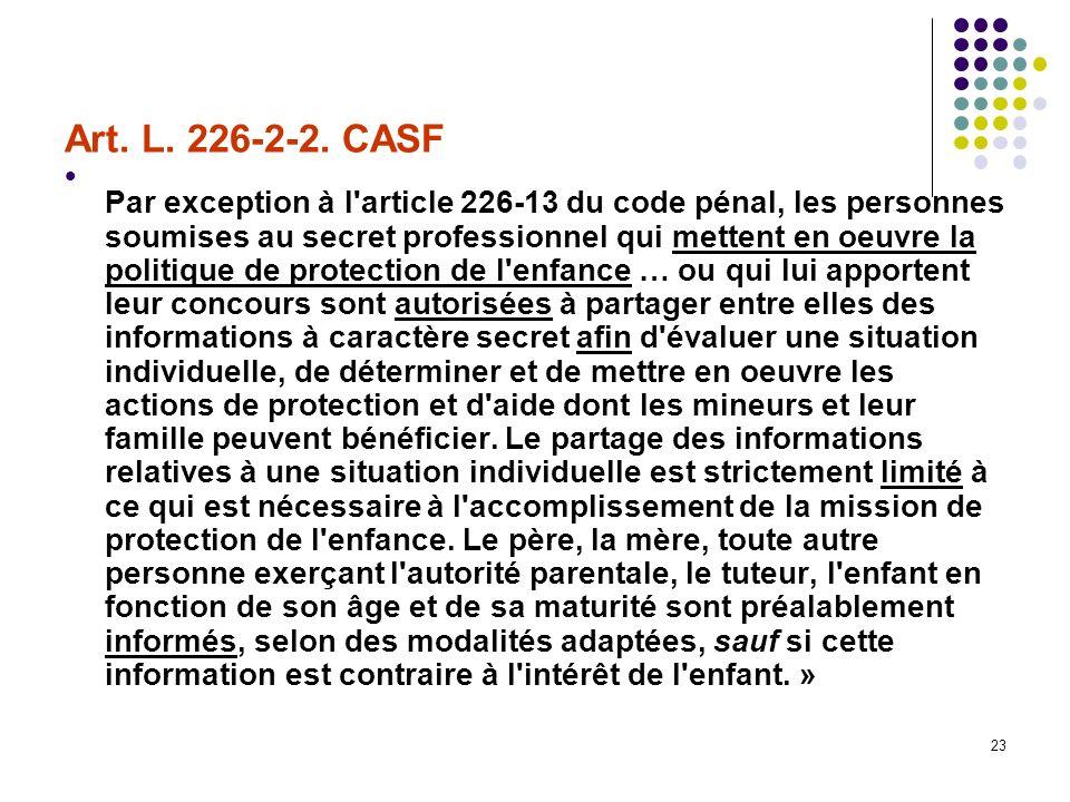 Art. L. 226-2-2. CASF