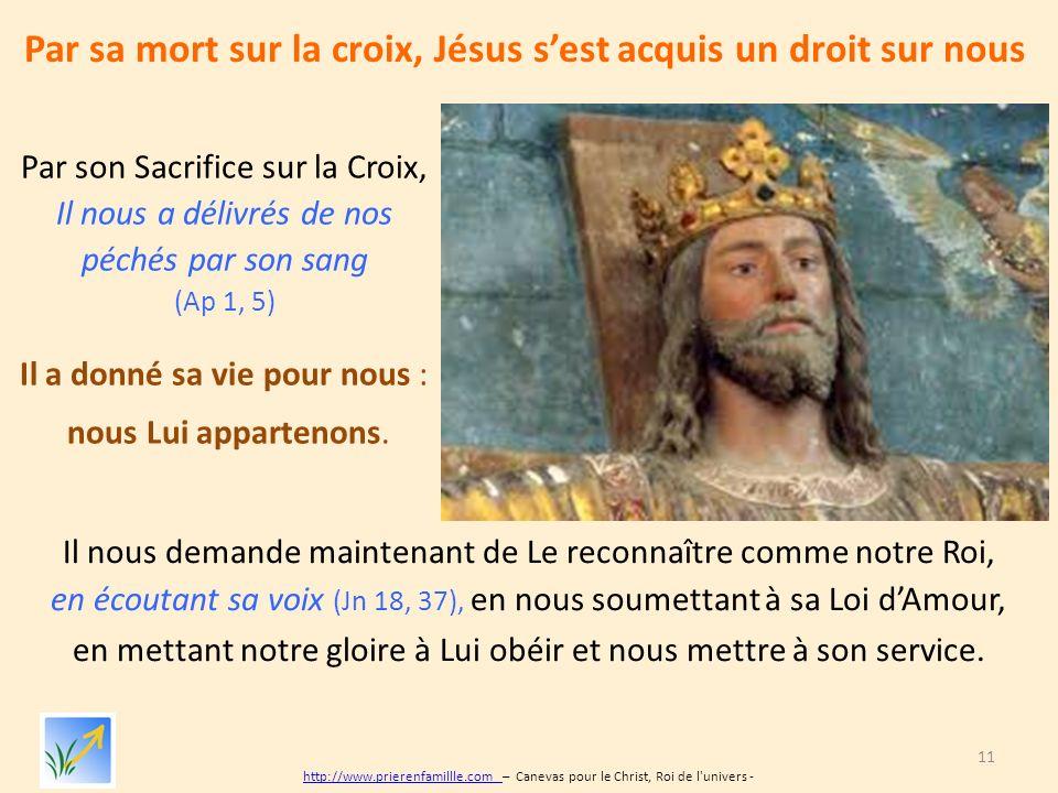 le christ roi de l u2019univers