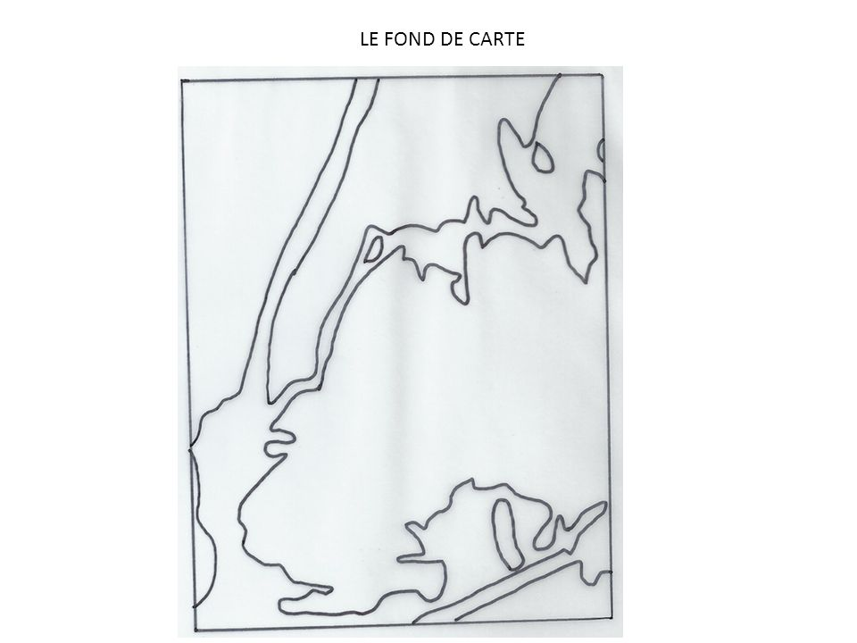 LE FOND DE CARTE