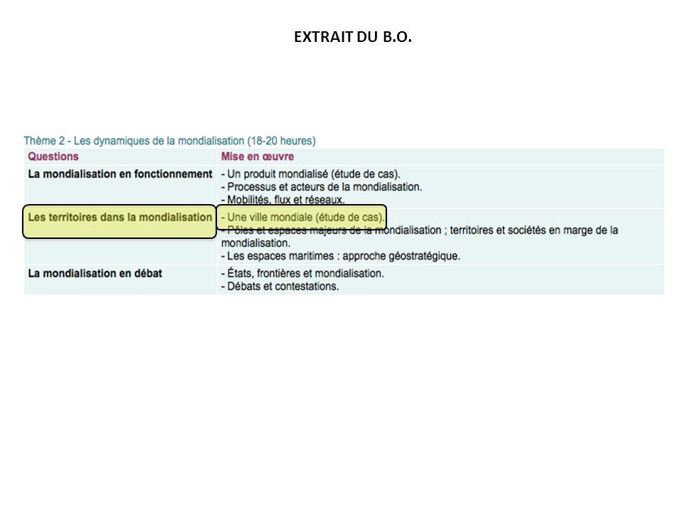 EXTRAIT DU B.O.
