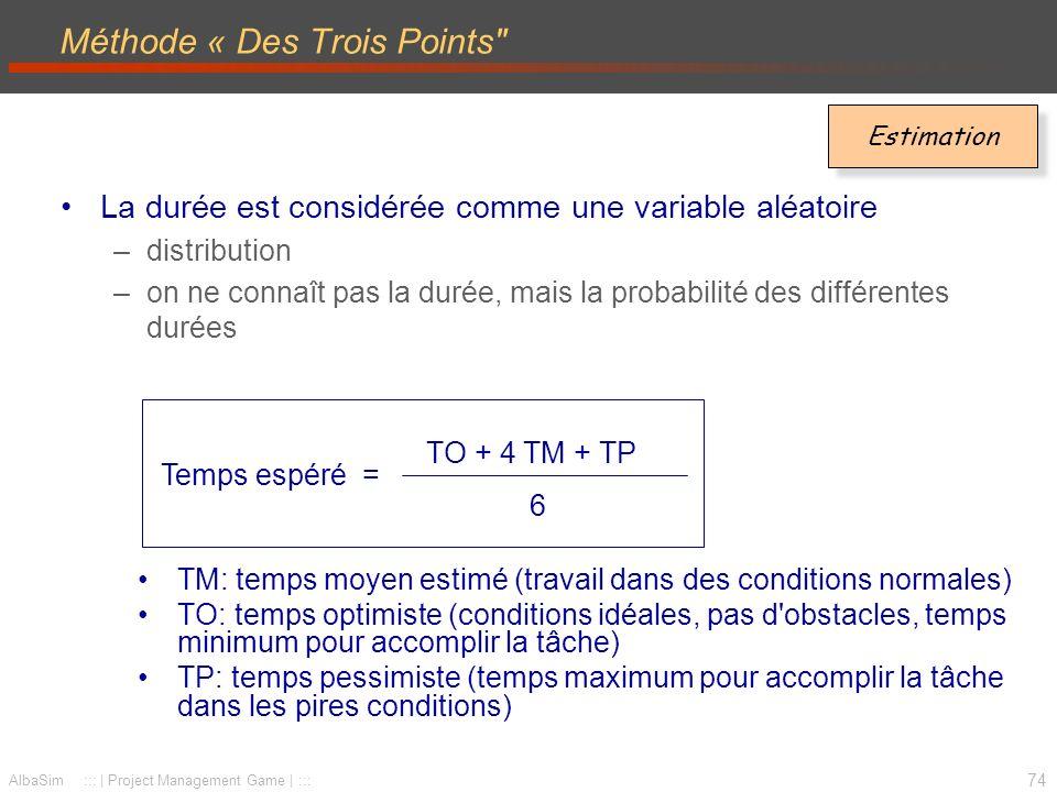 Méthode « Des Trois Points