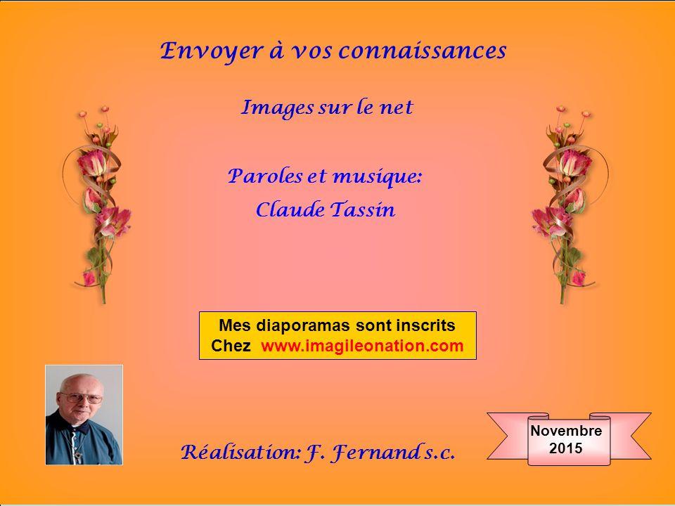 Mes diaporamas sont inscrits Chez www.imagileonation.com