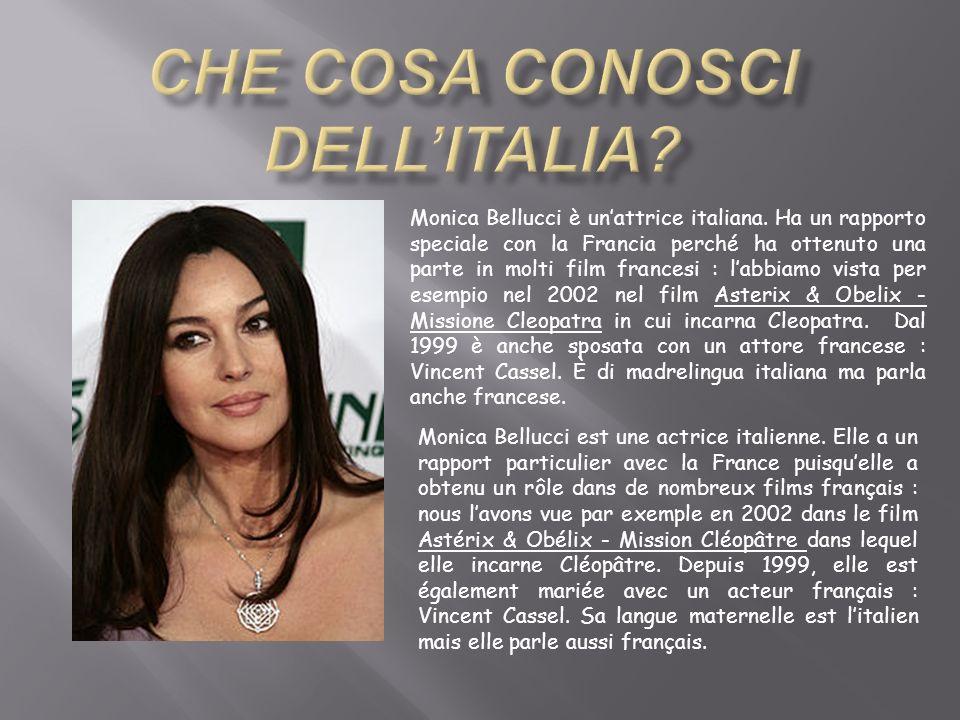 Che cosa conosci dell'Italia