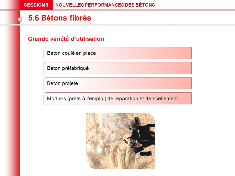 G n ralit s b ton fibr b ton avec fibres ppt t l charger for Beton coule en place