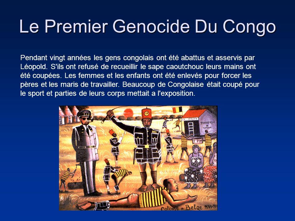 Le Premier Genocide Du Congo