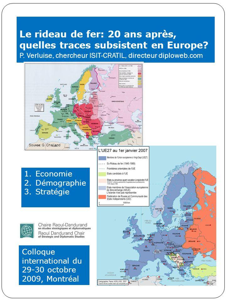Le rideau de fer: 20 ans après, quelles traces subsistent en Europe. P