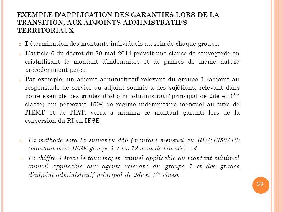 Le nouveau r gime indemnitaire rifssep ppt t l charger - Grille adjoint administratif 1ere classe ...