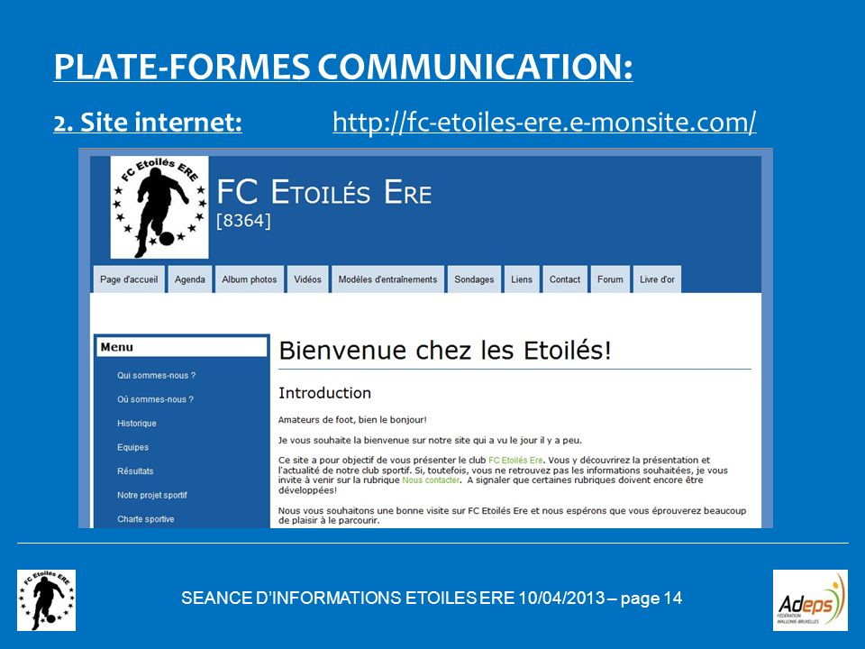 SEANCE D'INFORMATIONS ETOILES ERE 10/04/2013 – page 14