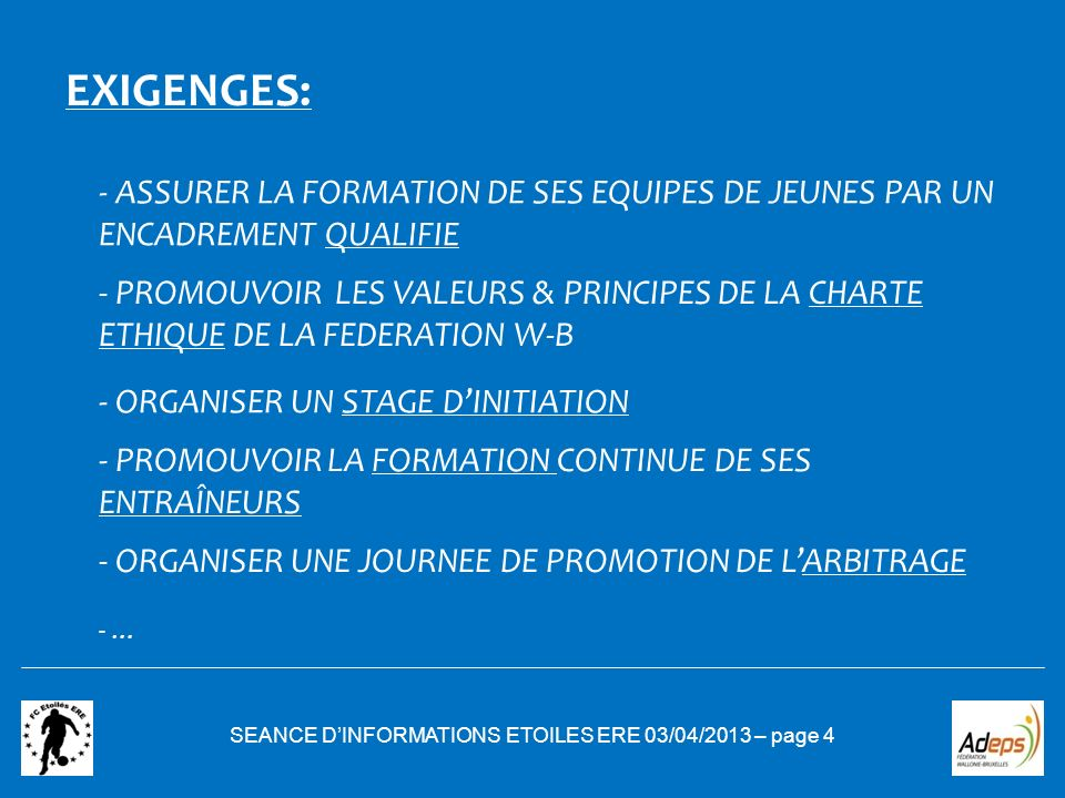 SEANCE D'INFORMATIONS ETOILES ERE 03/04/2013 – page 4