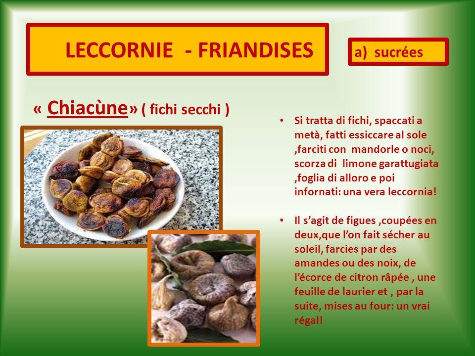 LECCORNIE - FRIANDISES