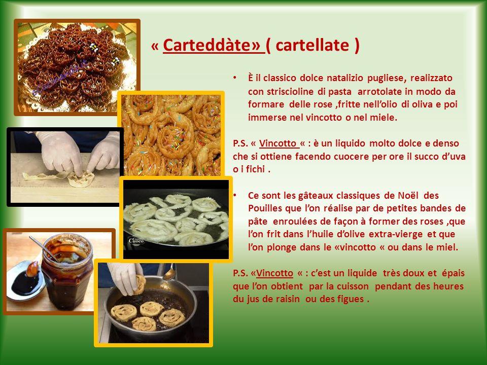 « Carteddàte» ( cartellate )