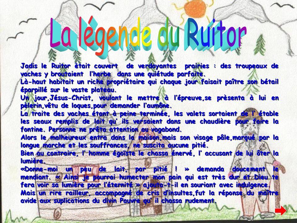 La légende du Ruitor