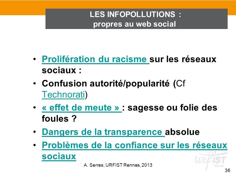 Prolifération du racisme sur les réseaux sociaux :