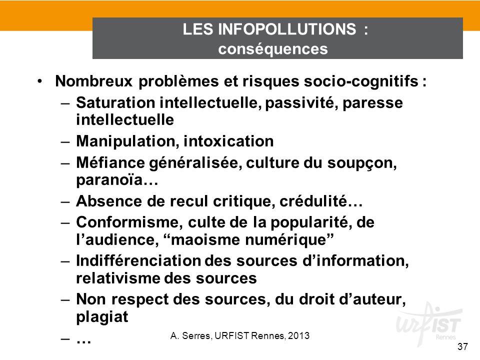 LES INFOPOLLUTIONS : conséquences