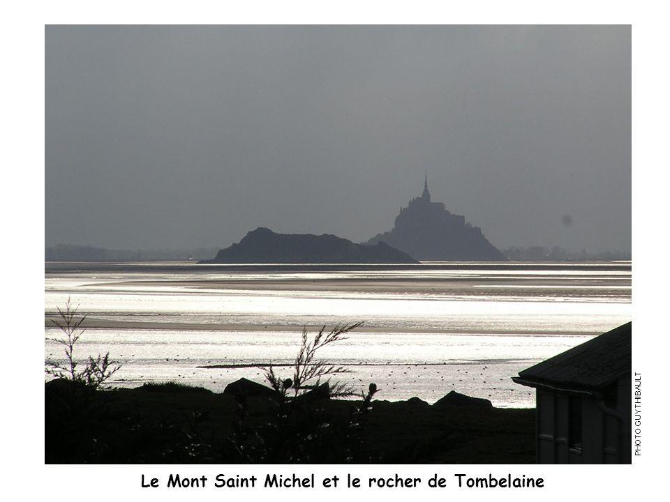 Le Mont Saint Michel et le rocher de Tombelaine