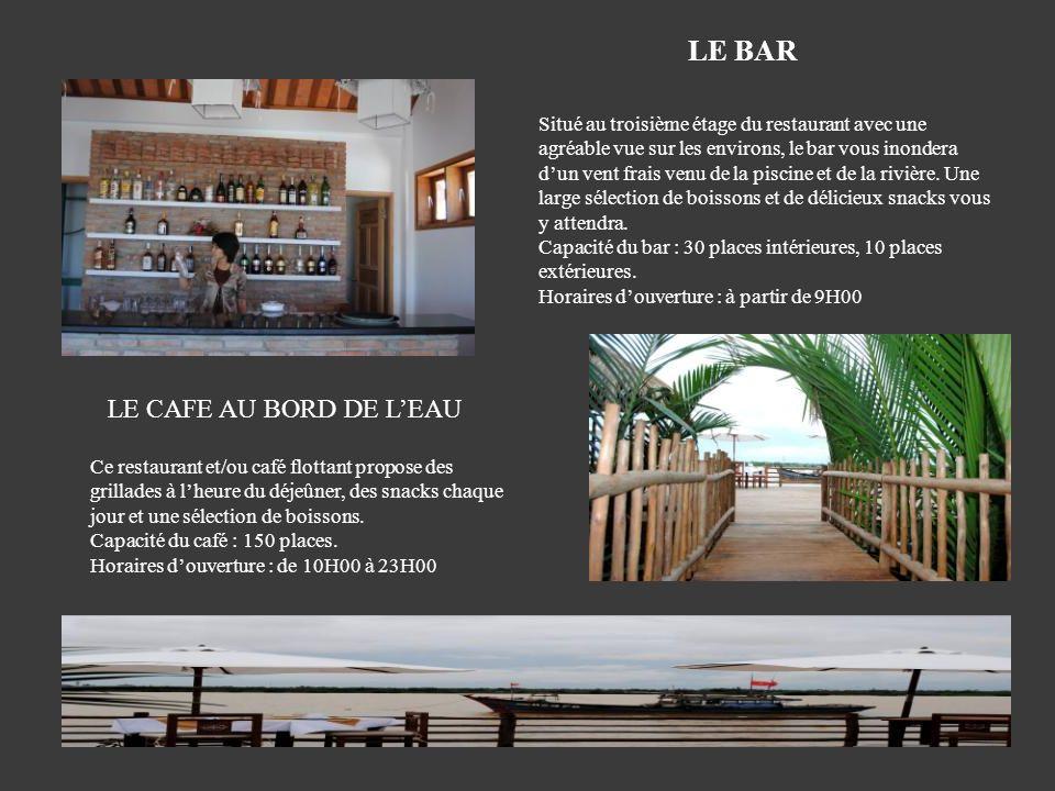 LE BAR LE CAFE AU BORD DE L'EAU