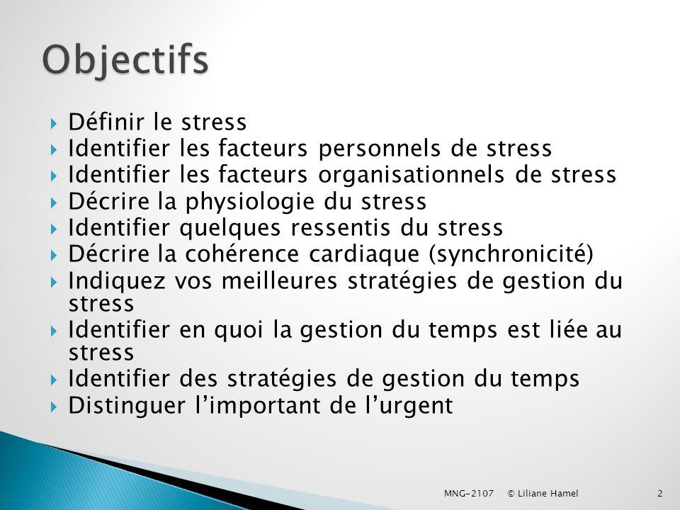 Par sa gestion du temps et du stress ppt video online for Le stress