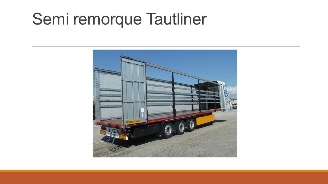Semi remorque Tautliner