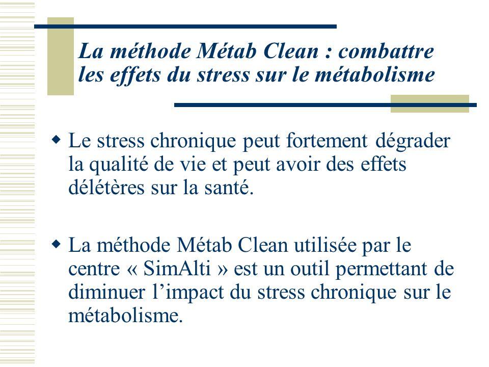 La méthode Métab Clean : combattre les effets du stress sur le métabolisme