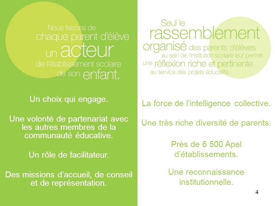 La force de l'intelligence collective.