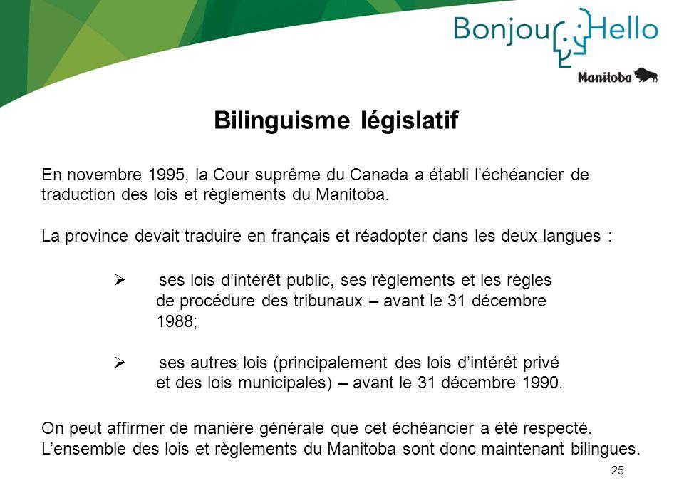 Bilinguisme législatif