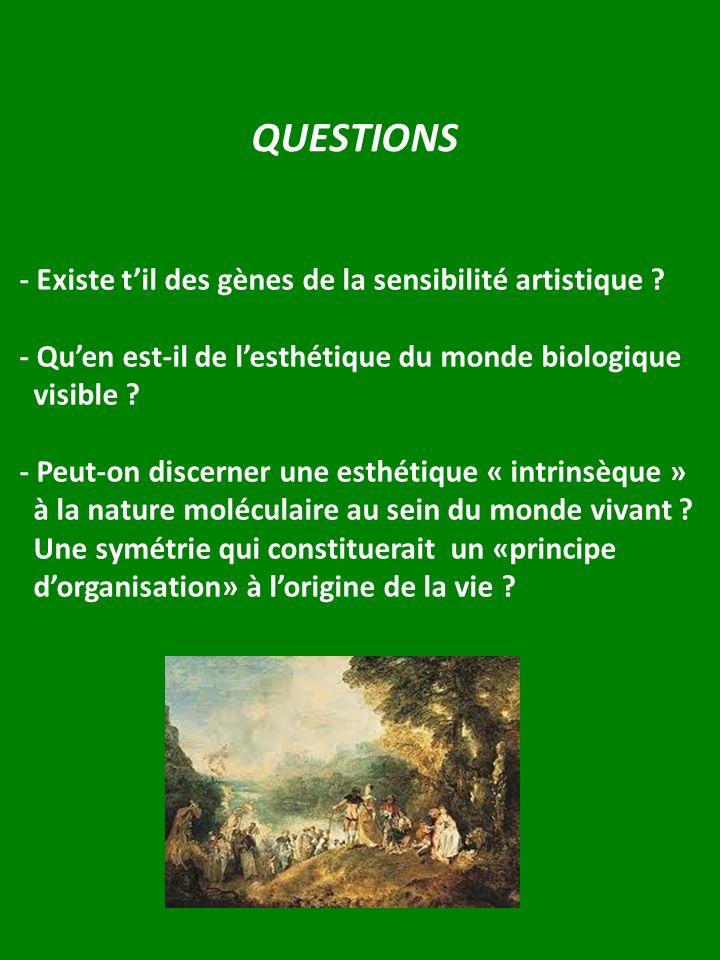 QUESTIONS - Existe t'il des gènes de la sensibilité artistique