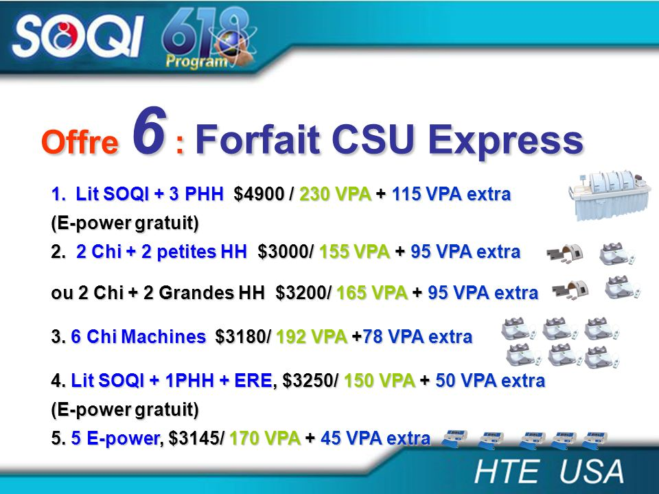 Offre 6 : Forfait CSU Express