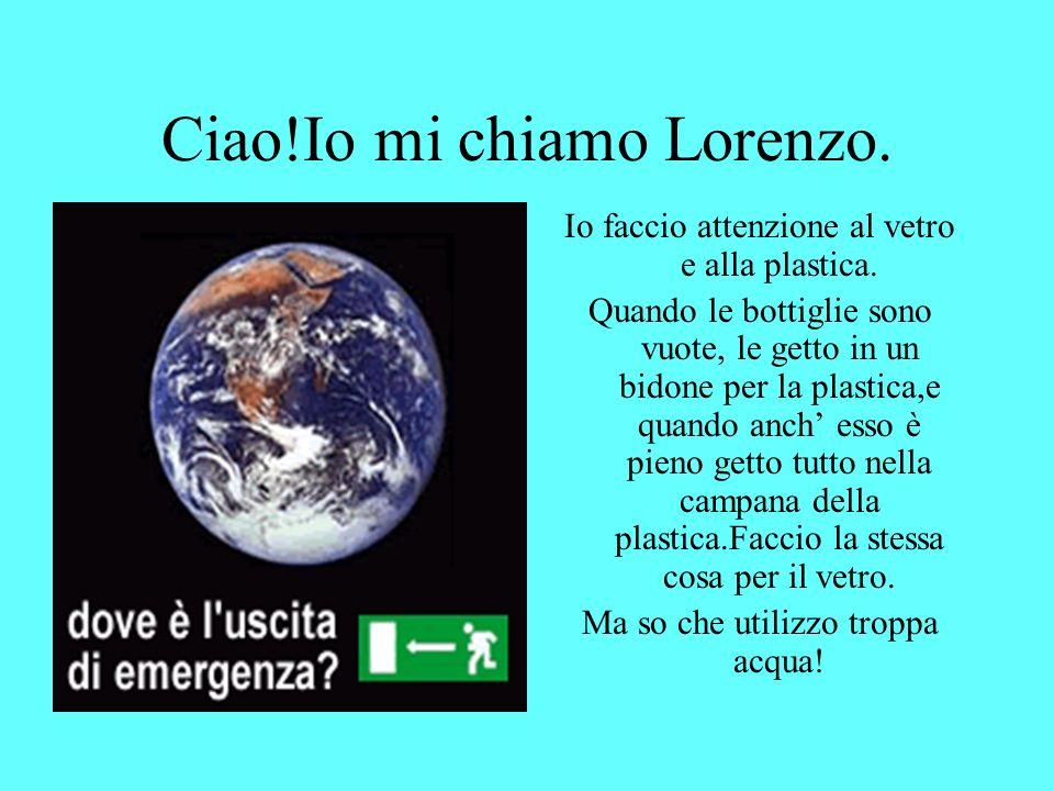 Ciao!Io mi chiamo Lorenzo.