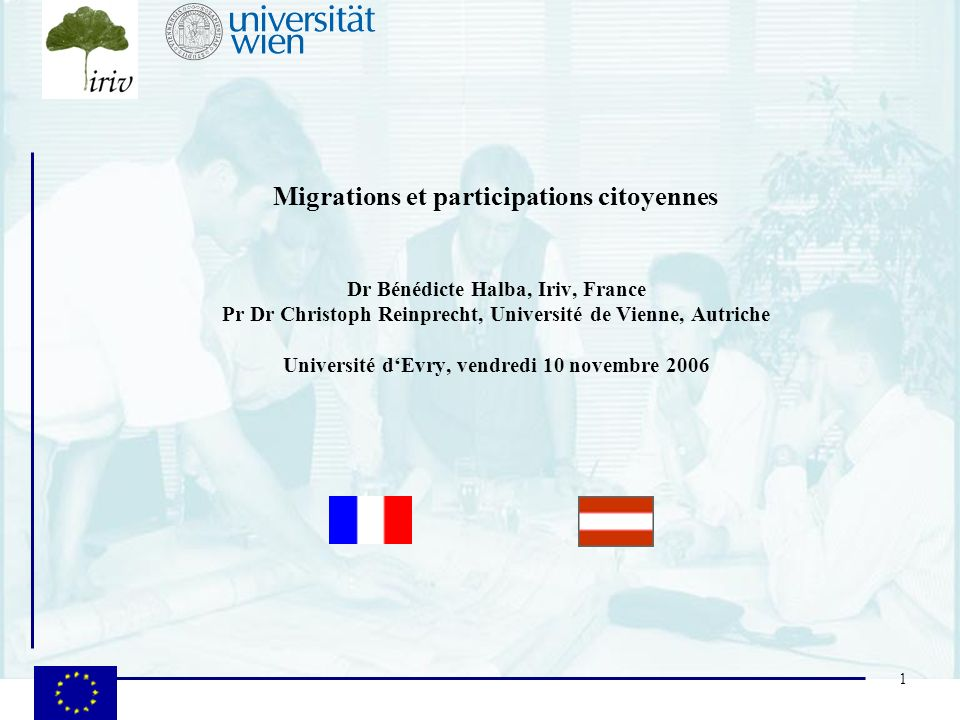 Migrations et participations citoyennes