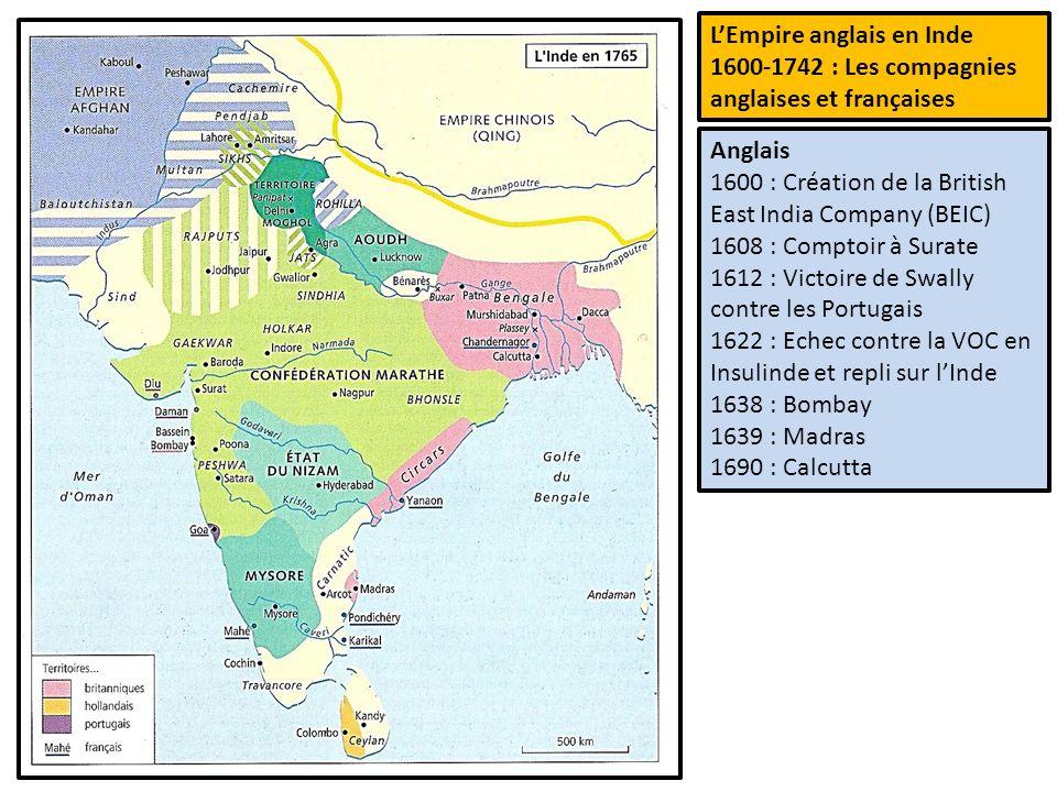 L europe occidentale des fronti res le temps des - Comptoirs francais en inde ...