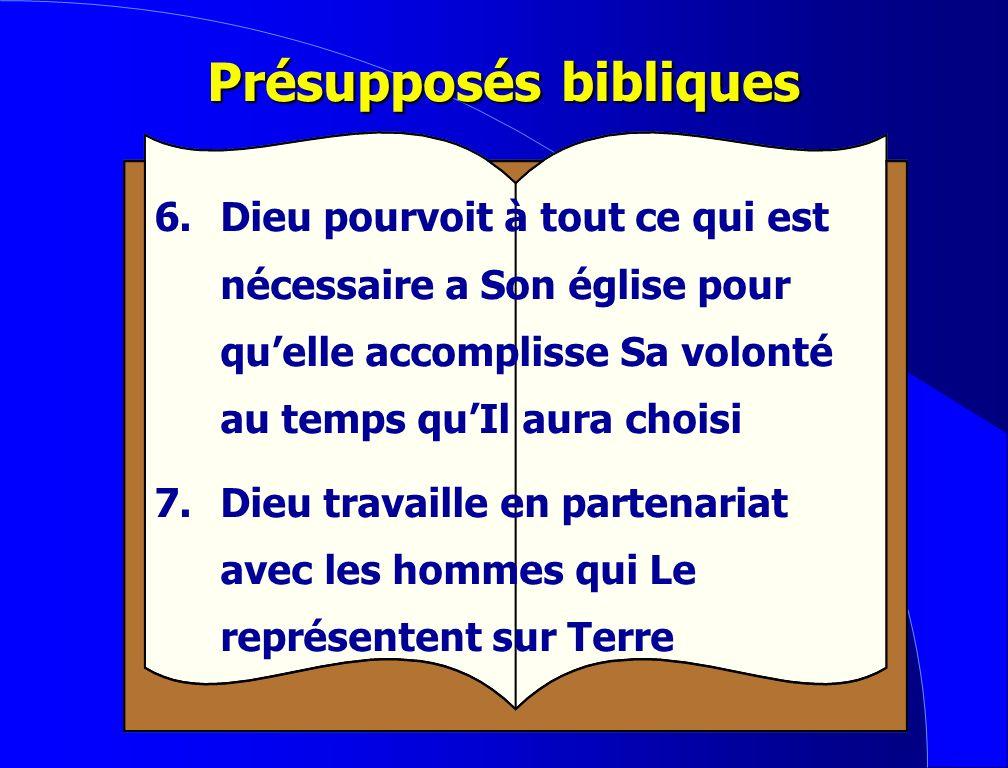 Présupposés bibliques