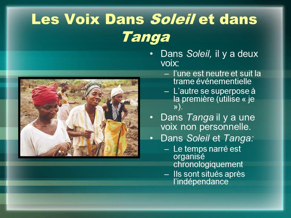 Les Voix Dans Soleil et dans Tanga