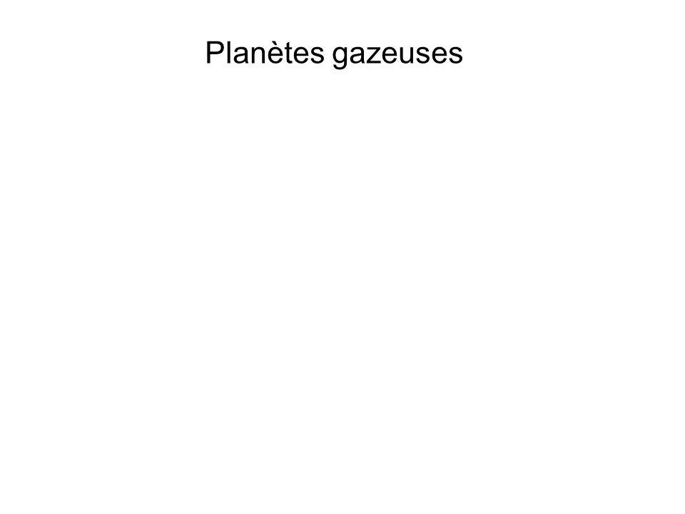 Planètes gazeuses