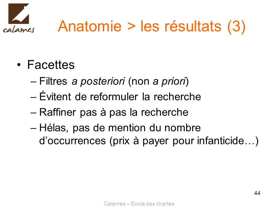 Anatomie > les résultats (3)