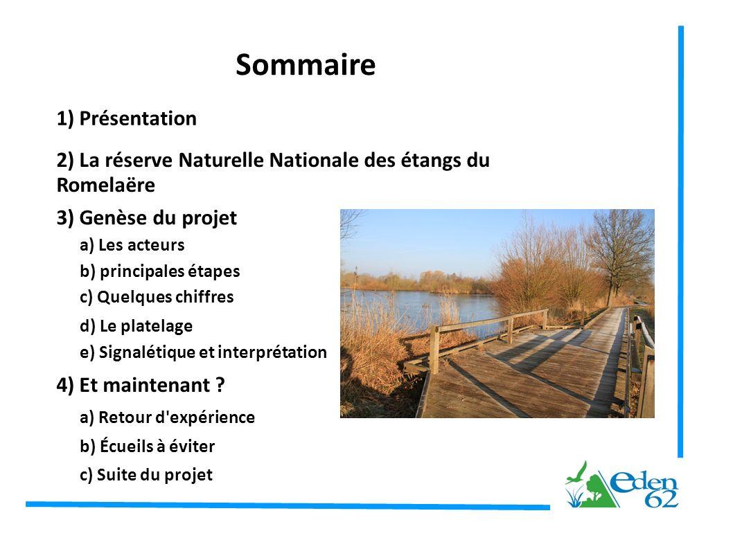 Sommaire 1) Présentation
