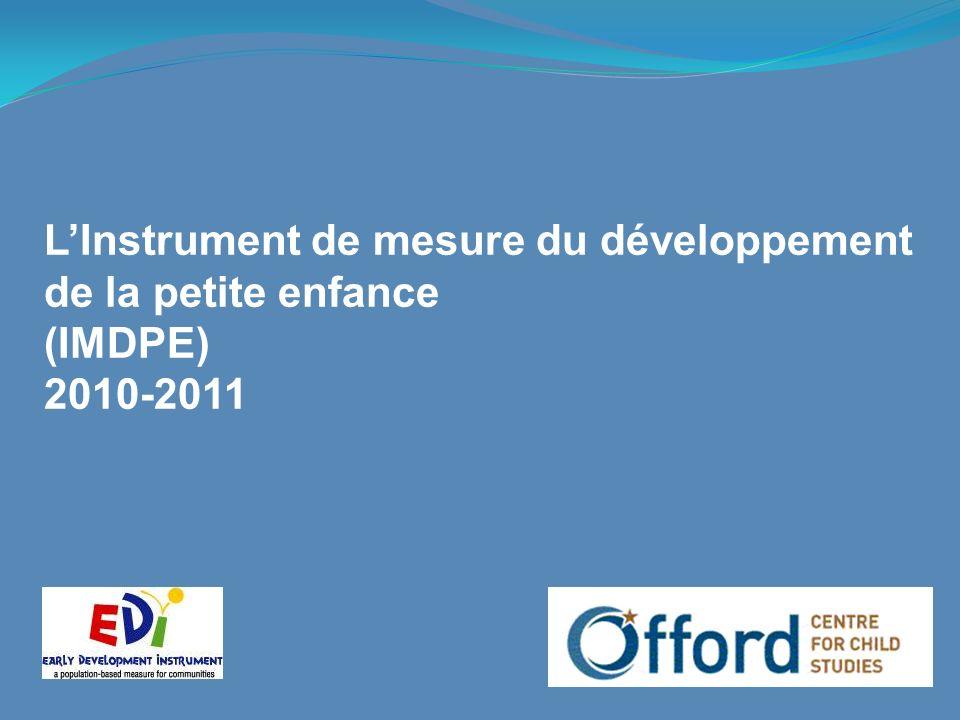 L'Instrument de mesure du développement de la petite enfance