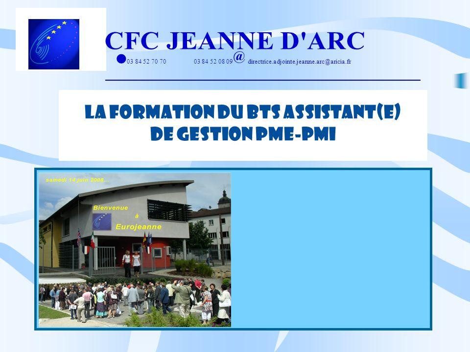 LA FORMATION DU BTS ASSISTANT(E)