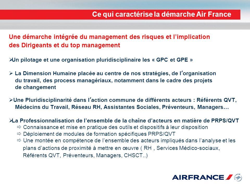 Ce qui caractérise la démarche Air France