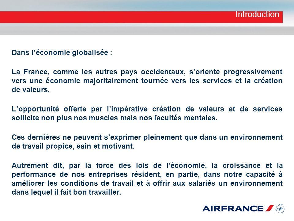 Introduction Dans l'économie globalisée :