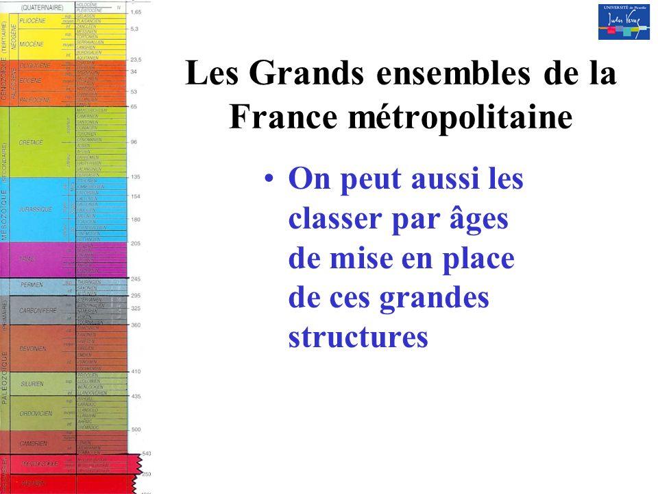 Les Grands ensembles de la France métropolitaine
