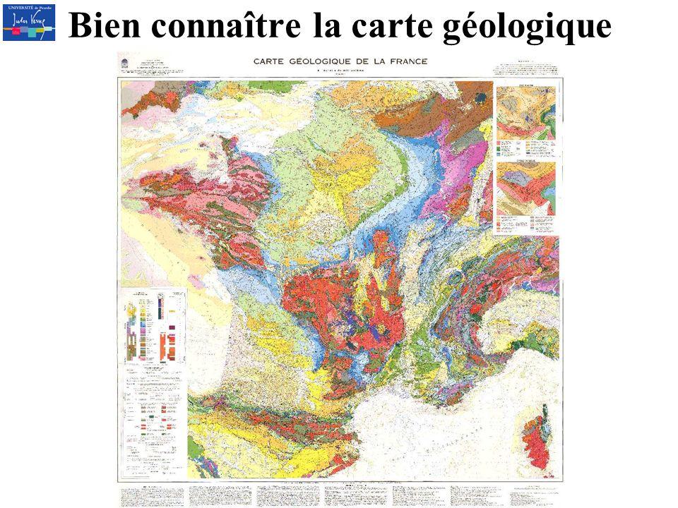 Bien connaître la carte géologique