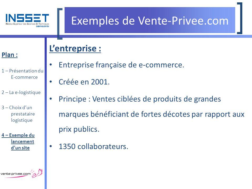 Ing nierie logistique la logistique du e commerce ppt t l charger - Vente privee com grandes marques a prix discount ...