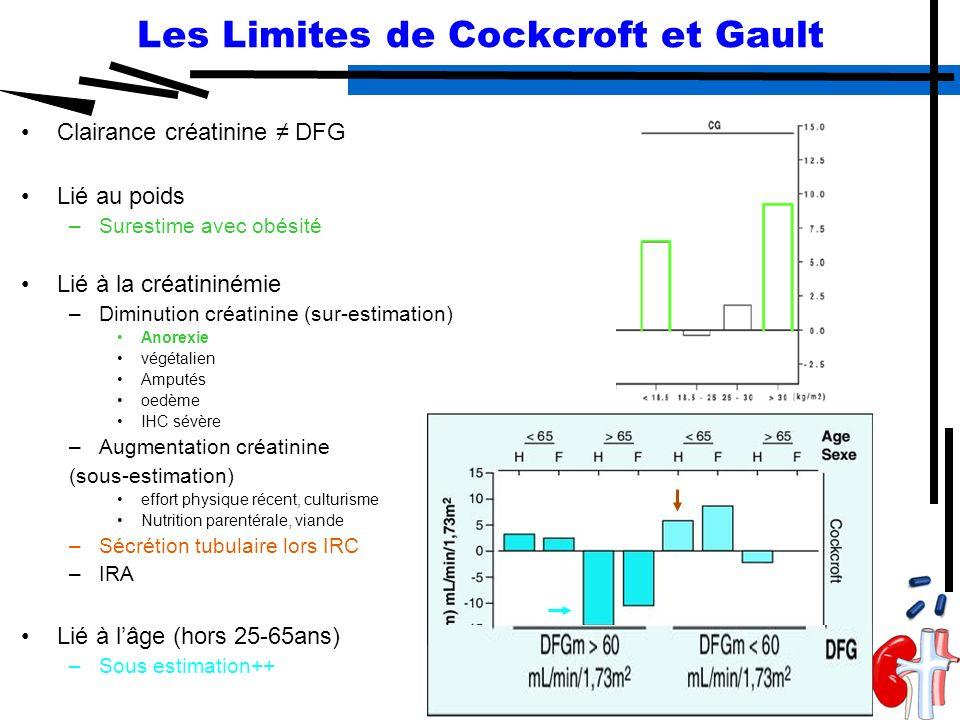 Intérêt du dosage de la cystatine C chez des patients ...