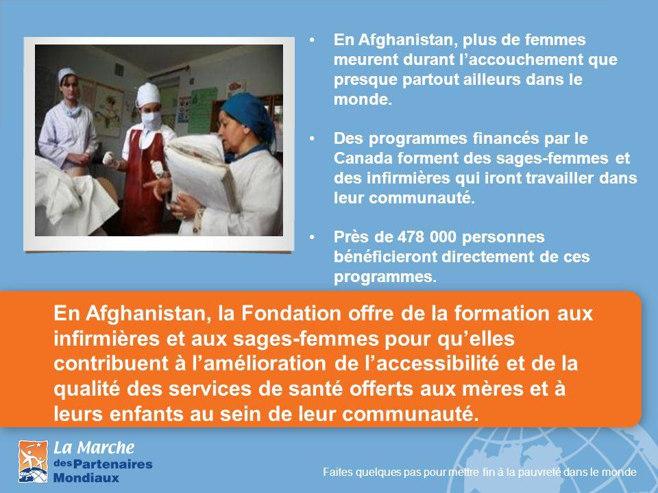 En Afghanistan, plus de femmes meurent durant l'accouchement que presque partout ailleurs dans le monde.